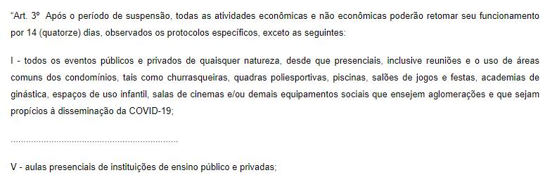 Decreto inviabiliza Exame de Ordem em Goiás